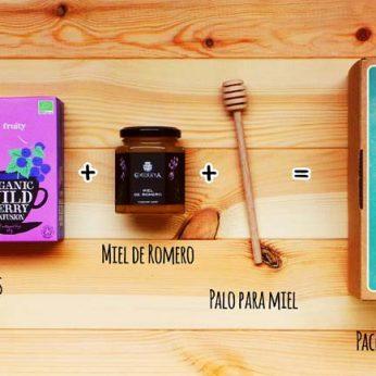 Pack Momento Tetero, tés ecológicos clipper - Regalos originales gourmet Gastroidea.com