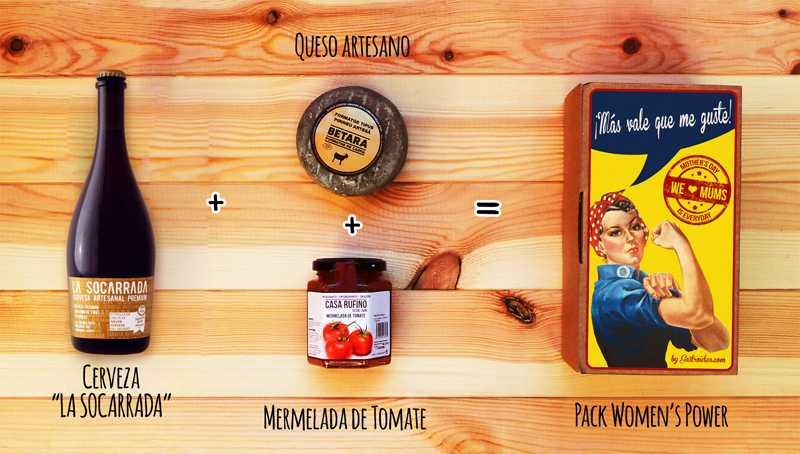 Contenido del pack ¡Madre sólo hay una! - Gastroidea.com