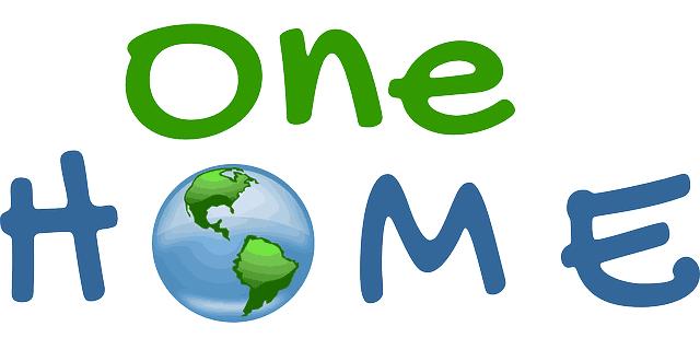 Un hogar, nuestro planeta.