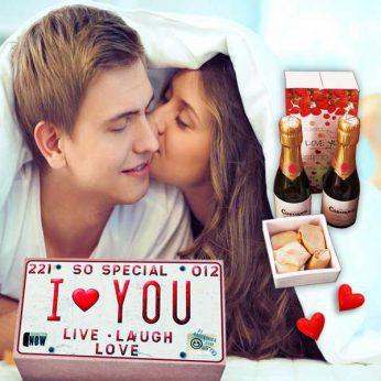 Pack I Love You, Pack enamorados, San Valentín, regalos para tu pareja, novio, novia, mujer, marido, personas especiales, te quiero, amor, Regalos originales gourmet Gastroidea.com