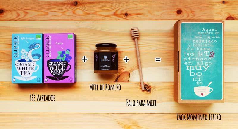 Contenido del pack Momento Tetero - Gastroidea.com
