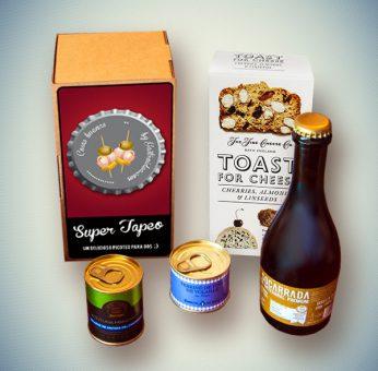 Pack Super Tapeo Gourmet, Regalos originales gourmet Gastroidea.com