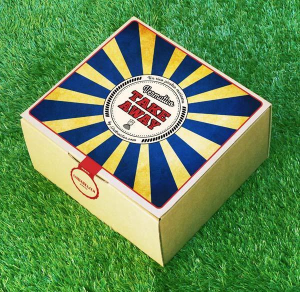 Pack Vermutico Take Away, vermut del domingo, picoteo - Regalos originales gourmet Gastroidea.com