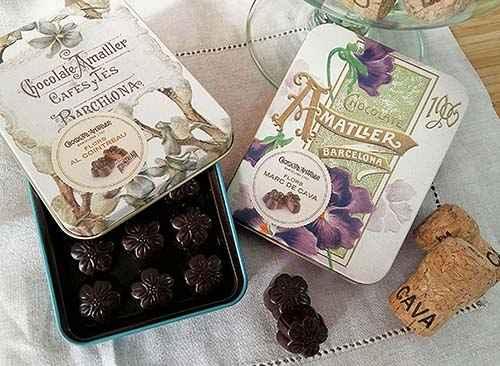 Los 10 mejores Chocolates artesanos, Casa Amatller - Gastroidea.com
