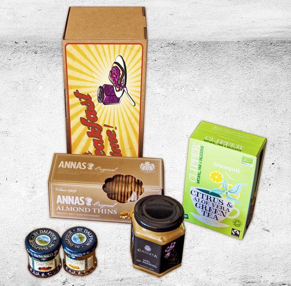 Pack Breakfast Time II, regala un desayuno - Regalos originales gourmet Gastroidea.com