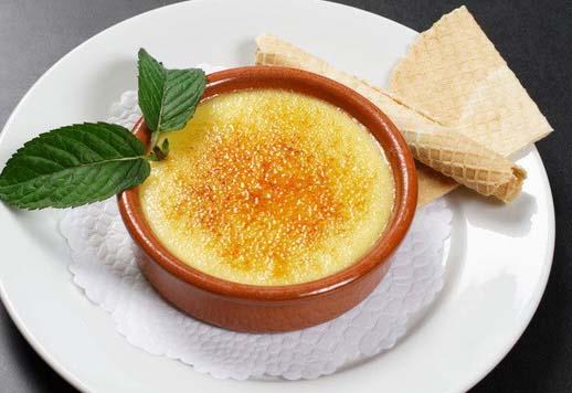 10 dulces típicos de España, Crema catalana - Gastroidea.com