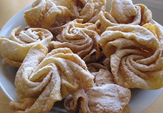 dulces típicos de España, Hohuelas manchegas - Gastroidea.com