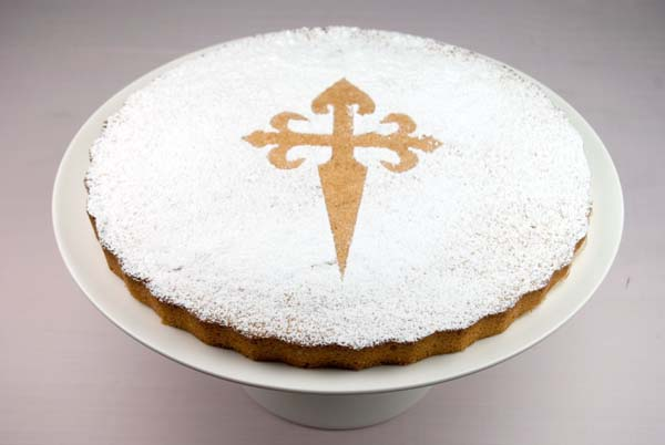 10 dulces típicos de España, Tarta de Santiago - Gastroidea.com