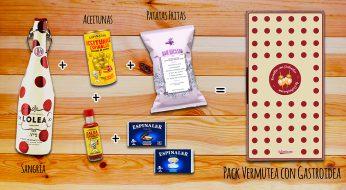 pack Vermutea con Gastroidea, gastroidea, regalos originales gourmet, gastroidea.com
