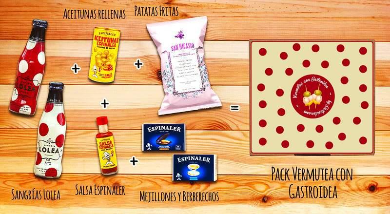 Pack Vermutea con Gastroidea - Gastroidea.com