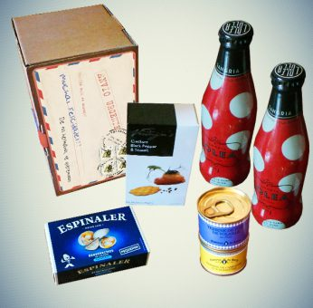 Pack Postal Gourmet - Regalos originales gourmet Gastroidea.com