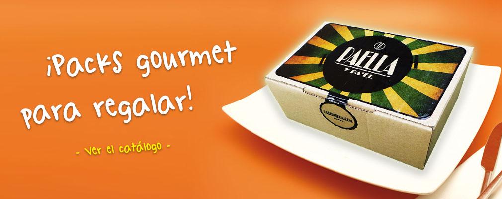 Packs y regalos originales gourmet Gastroidea.com