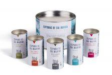 Espumas de sal Bras del Port, sal de sabores, cocina, delicatessen, regalos originales gourmet, gastroidea.com